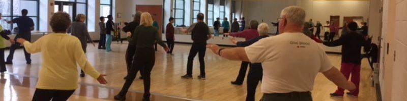 T'ai Chi practice at White Oak Recreation Center